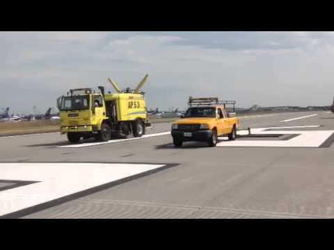 Conventional sweeper VS FOD*BOSS